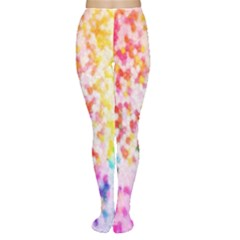Colorful Colors Digital Pattern Women s Tights