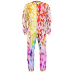 Colorful Colors Digital Pattern OnePiece Jumpsuit (Men)
