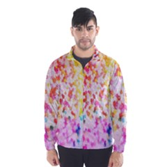 Colorful Colors Digital Pattern Wind Breaker (men)