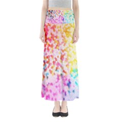 Colorful Colors Digital Pattern Maxi Skirts