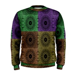 Creative Digital Pattern Computer Graphic Men s Sweatshirt