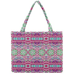 Colorful Seamless Background With Floral Elements Mini Tote Bag