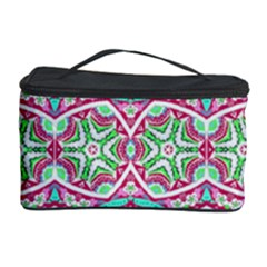 Colorful Seamless Background With Floral Elements Cosmetic Storage Case