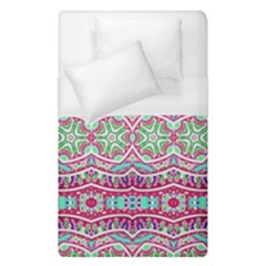 Colorful Seamless Background With Floral Elements Duvet Cover (single Size)