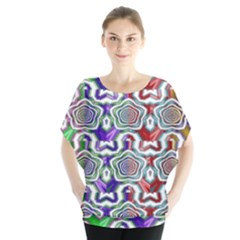 Digital Patterned Ornament Computer Graphic Blouse