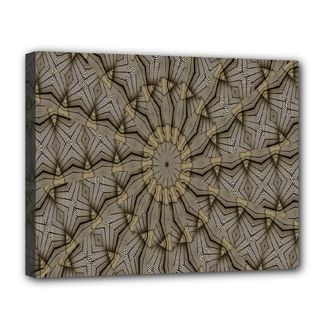 Abstract Image Showing Moiré Pattern Canvas 14  X 11