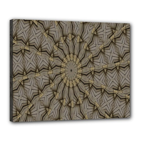 Abstract Image Showing Moiré Pattern Canvas 20  X 16