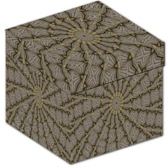 Abstract Image Showing Moiré Pattern Storage Stool 12