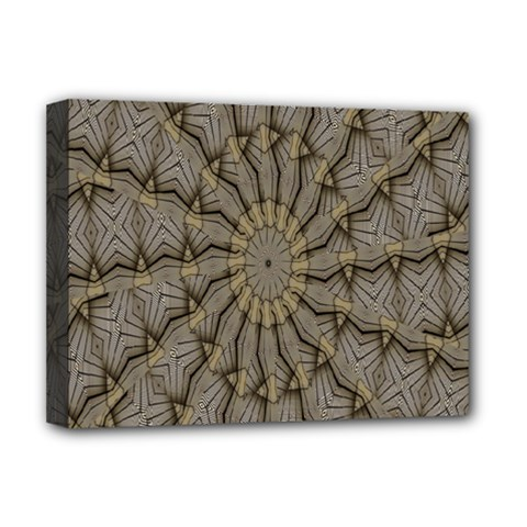 Abstract Image Showing Moiré Pattern Deluxe Canvas 16  X 12