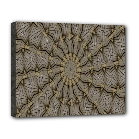 Abstract Image Showing Moiré Pattern Deluxe Canvas 20  X 16