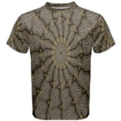 Abstract Image Showing Moir¨| Pattern Men s Cotton Tee