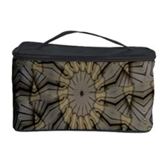 Abstract Image Showing Moiré Pattern Cosmetic Storage Case