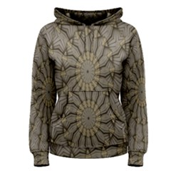 Abstract Image Showing Moir¨| Pattern Women s Pullover Hoodie