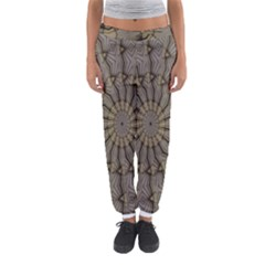 Abstract Image Showing Moiré Pattern Women s Jogger Sweatpants