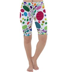 Color Ball Cropped Leggings