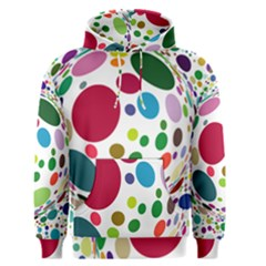 Color Ball Men s Pullover Hoodie