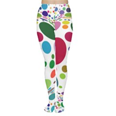 Color Ball Women s Tights