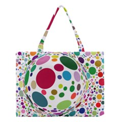 Color Ball Medium Tote Bag