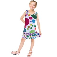 Color Ball Kids  Tunic Dress