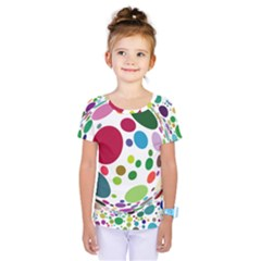 Color Ball Kids  One Piece Tee
