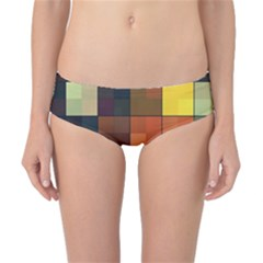 Background With Color Layered Tiling Classic Bikini Bottoms