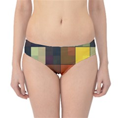 Background With Color Layered Tiling Hipster Bikini Bottoms