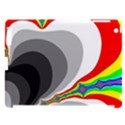 Background Image With Color Shapes Apple iPad 3/4 Hardshell Case (Compatible with Smart Cover) View1