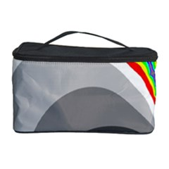 Background Image With Color Shapes Cosmetic Storage Case