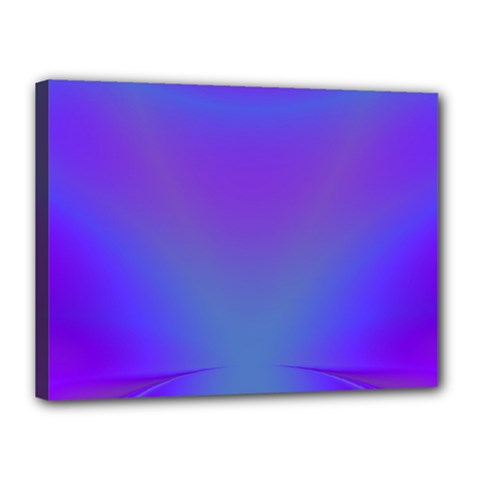 Violet Fractal Background Canvas 16  X 12