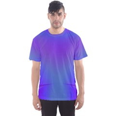 Violet Fractal Background Men s Sport Mesh Tee