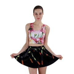 Colorful Spiders For Your Dark Halloween Projects Mini Skirt