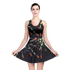 Colorful Spiders For Your Dark Halloween Projects Reversible Skater Dress