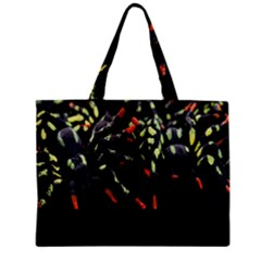Colorful Spiders For Your Dark Halloween Projects Mini Tote Bag