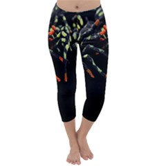 Colorful Spiders For Your Dark Halloween Projects Capri Winter Leggings