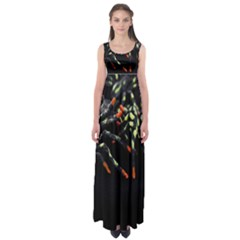 Colorful Spiders For Your Dark Halloween Projects Empire Waist Maxi Dress