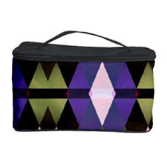 Geometric Abstract Background Art Cosmetic Storage Case