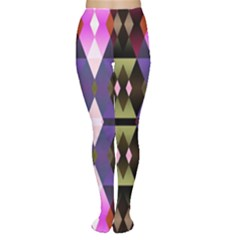 Geometric Abstract Background Art Women s Tights