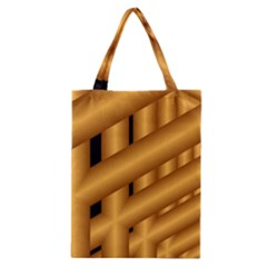 Fractal Background With Gold Pipes Classic Tote Bag
