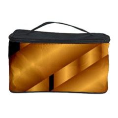 Fractal Background With Gold Pipes Cosmetic Storage Case