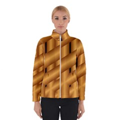 Fractal Background With Gold Pipes Winterwear