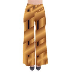 Fractal Background With Gold Pipes Pants