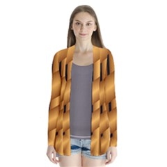 Fractal Background With Gold Pipes Cardigans