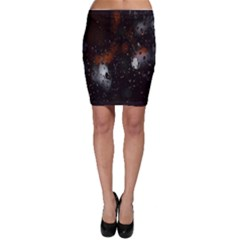 Lights And Drops While On The Road Bodycon Skirt