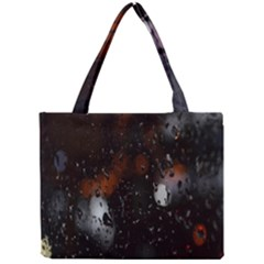 Lights And Drops While On The Road Mini Tote Bag