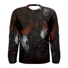Lights And Drops While On The Road Men s Long Sleeve Tee