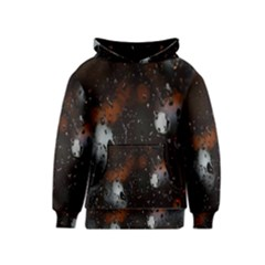 Lights And Drops While On The Road Kids  Pullover Hoodie