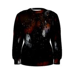 Lights And Drops While On The Road Women s Sweatshirt