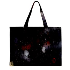 Lights And Drops While On The Road Zipper Mini Tote Bag