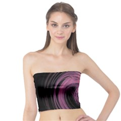 A Pink Purple Swirl Fractal And Flame Style Tube Top