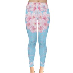 Flower Pattern Leggings